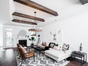 Best white living room design photo