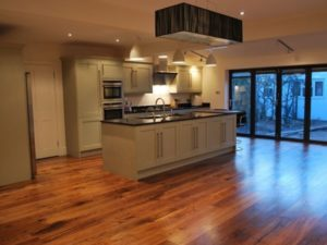 Wooden Floor install in kitchen