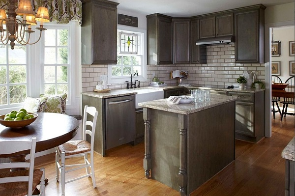 Small kitchen design USA