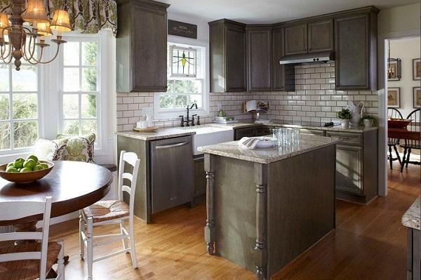 Small kitchen design USA