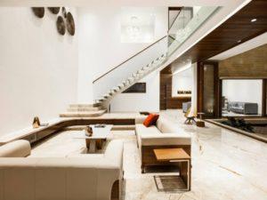 Beautiful living room decoration