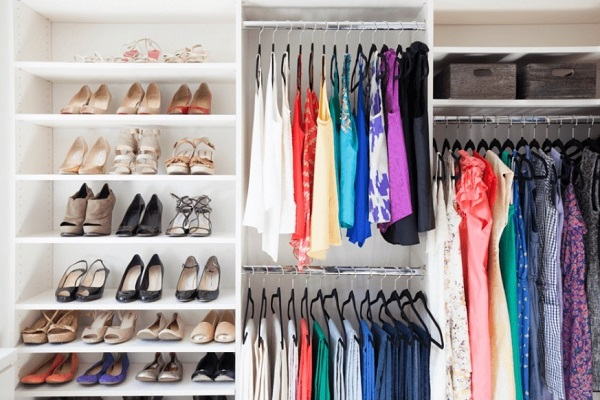 Perfectly Organized Closet